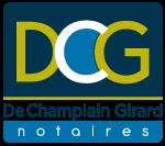 Logo des Notaires & conseillers juridiques De Champlain, Girard & associés au Saguenay