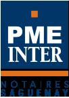 Logo des Notaires & conseillers juridiques De Champlain, Girard & associés de PME inter notaires au Saguenay